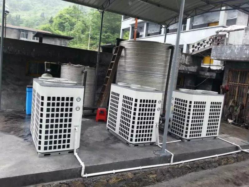 小场坡煤矿热水工程