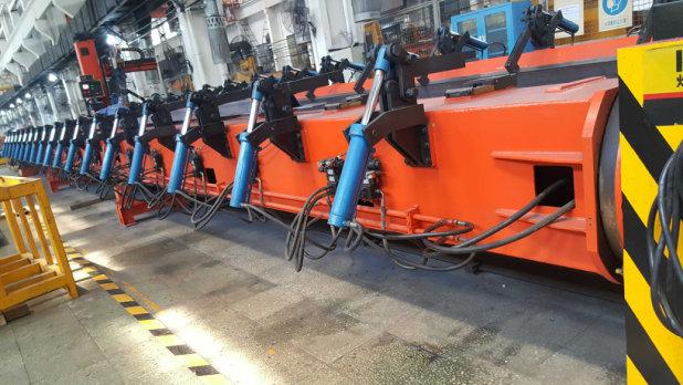 中車焊接機器人安裝調試