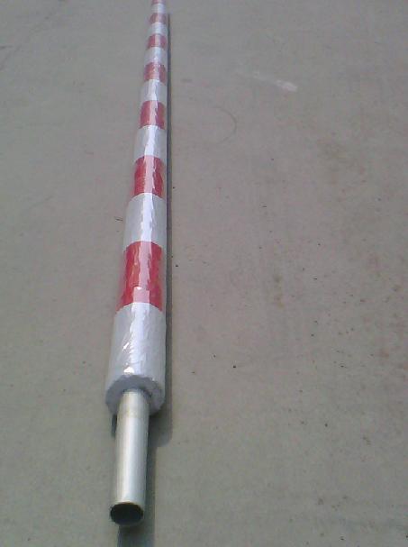 道闸通用高速杆/高速路ETC泡沫圆杆76*38mm、36mm、50mm道闸杆