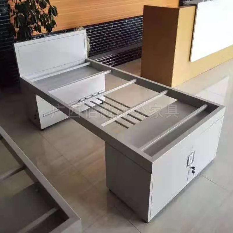 单层储物柜铁床
