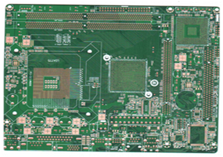 Four-layer impedance motherboard