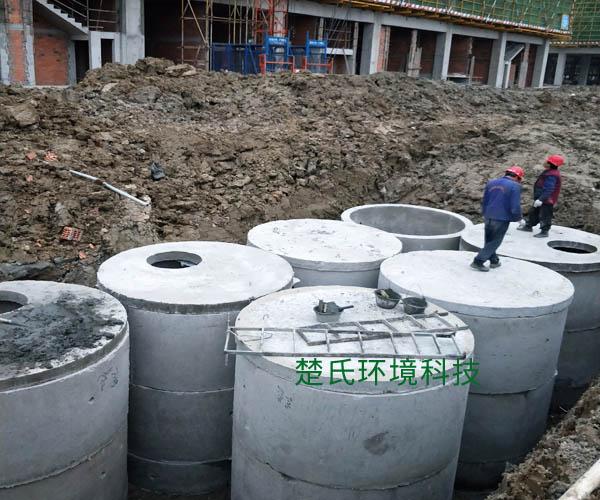 上海龍安實業公司化糞池工程