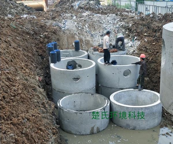 六安振興集團化糞池工程
