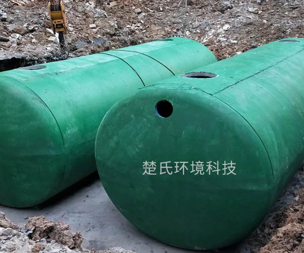 滁州世貿城化糞池施工現場