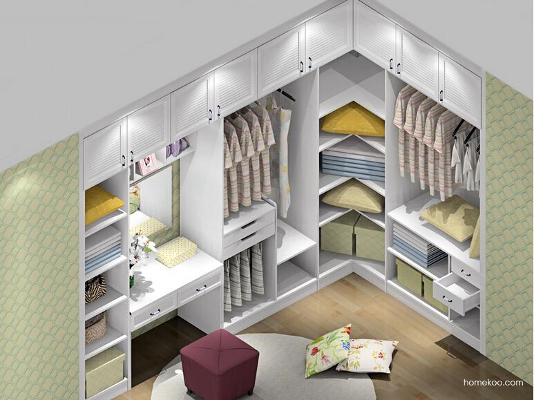 韩式田园卧室家具