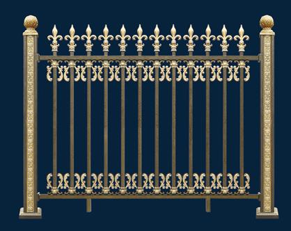 鋁藝圍牆護欄