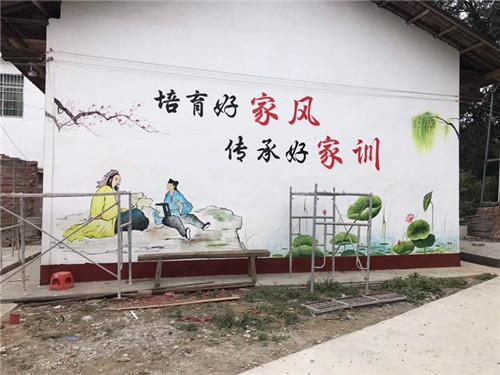 户外文化墙设计效果图