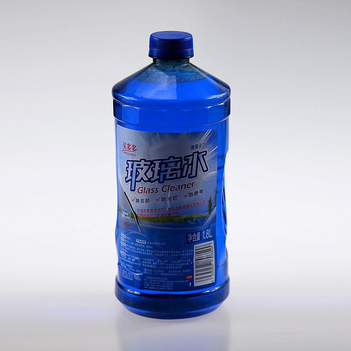 汽车玻璃水 买多多 1.8l