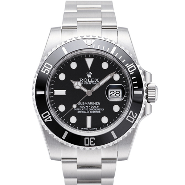 【N厂V7版】劳力士黑水鬼潜航者型系列 116610LN机械手表