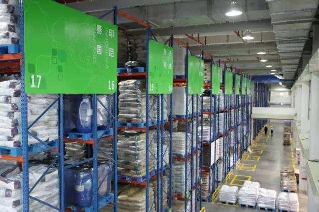 上海绿旺塑料原料库