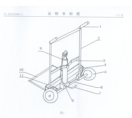 可升降轻便搬运车-充气轮胎 图1.png