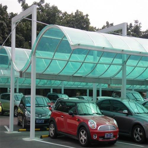 陽光板車棚案例展示