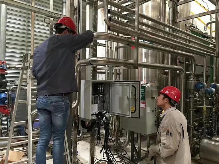 食品厂净水设备安装