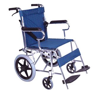折背式铝合金儿童轮椅