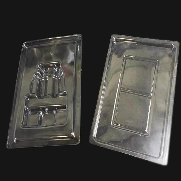 PVC双泡壳吸塑盒