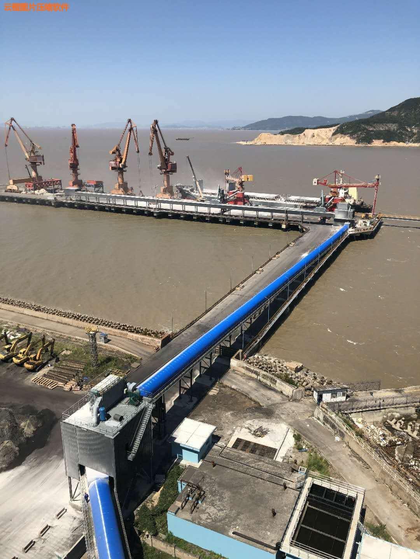 溫州萬大利項目,帶寬2米、帶式輸送機3條