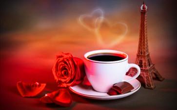 投票休息时喝杯咖啡