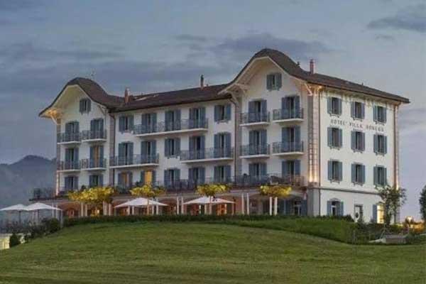 瑞士网红vwin000鼻祖赫本在这里办婚礼可以在阿尔卑斯对面泡温泉