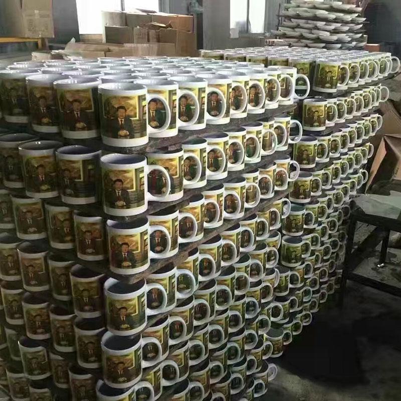 生产车间-礼品陶瓷生产厂家