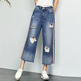 阔腿牛仔裤系列
