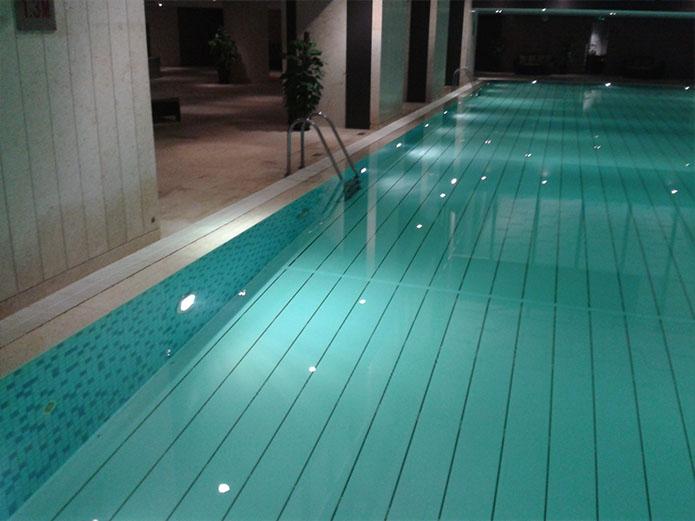 苏州同里度假村室内恒温泳池项目