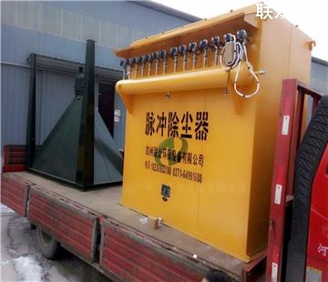 荥阳机械制造厂  112型安装现场