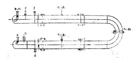 U型管式反应器结构图