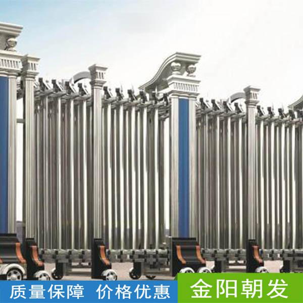 阜陽電動門廠家_電動伸縮門的主要部件